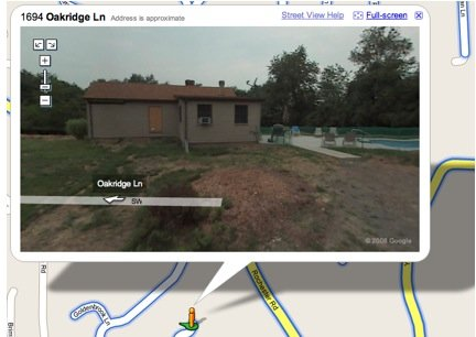 Privacy e internet: con Google Street View addio casetta piccolina in Canada