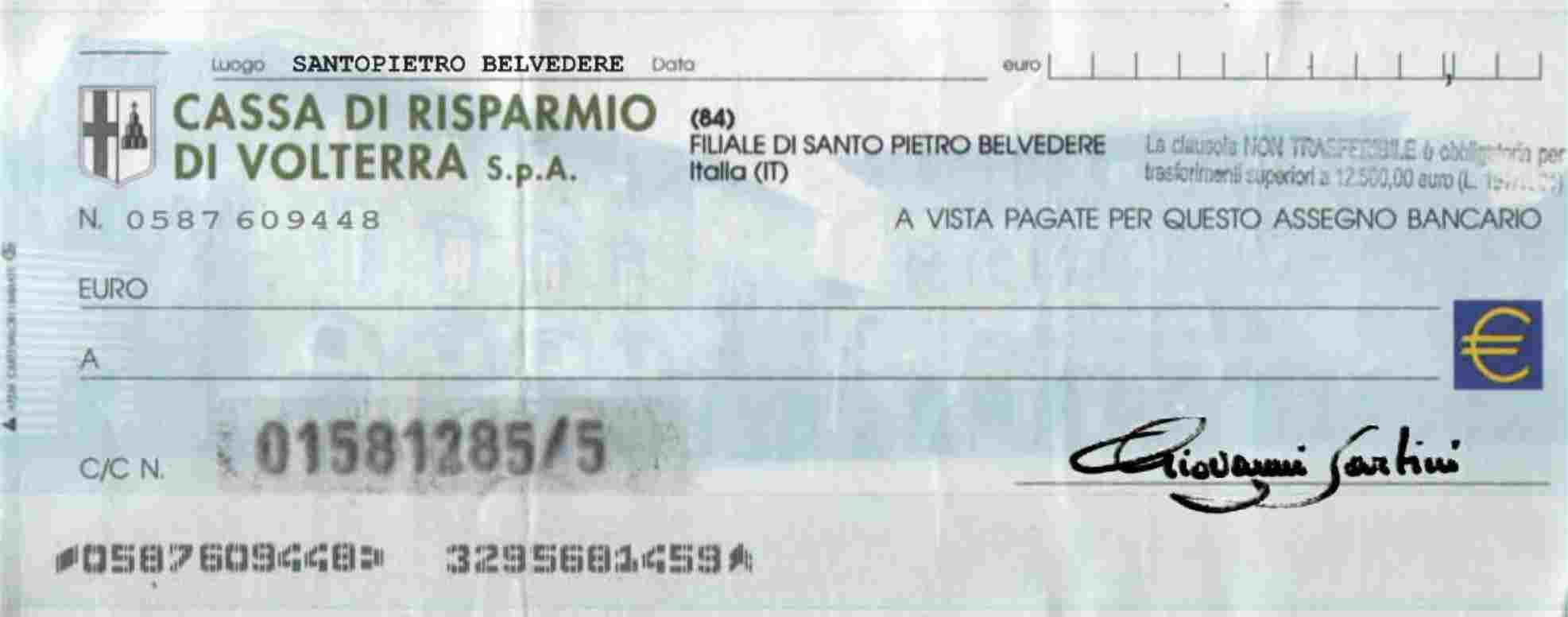 Per non pagare l'assegno, ne denuncia lo smarrimento: condannato per calunnia
