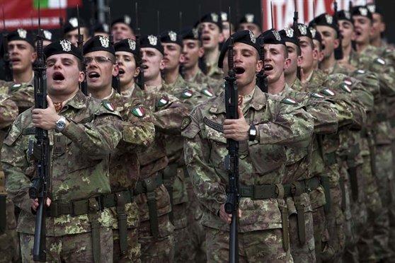 La riduzione della spesa militare in Italia