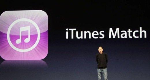 Apple lancia in Italia iTunes Match