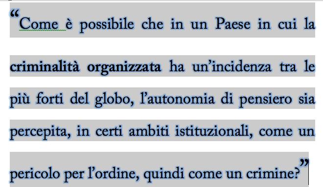 Libertà di espressione, web, politica italiana e…