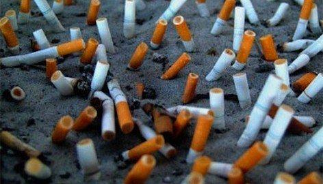 Multe per i mozziconi di sigaretta sulle spiagge
