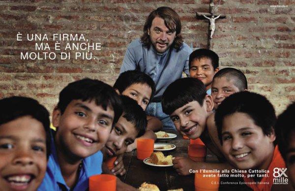 8 per mille alla chiesa cattolica: pubblicità ingannevole?