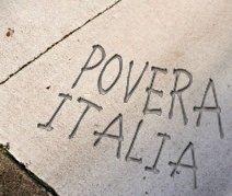 Italia, un popolo di poveri: uno su quattro a rischio indigenza
