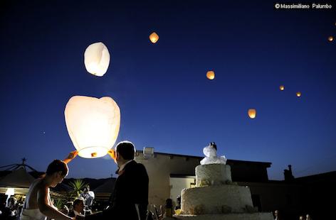 Lanterne volanti cinesi: troppo pericolose. Necessaria la licenza