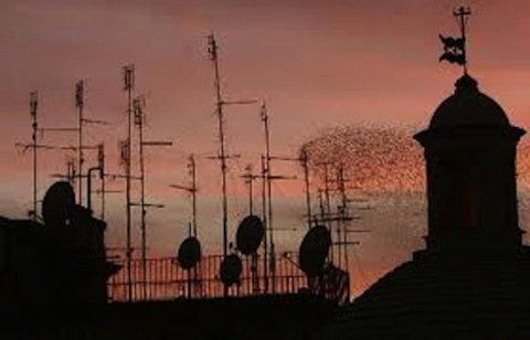 Quali autorizzazioni per installare un'antenna radio sul tetto?