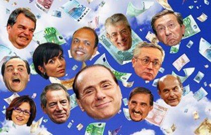 Pubblicati stipendi e redditi dei parlamentari for Gruppi politici italiani