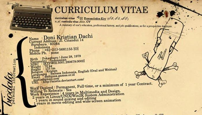 Si possono dire bugie sul curriculum?