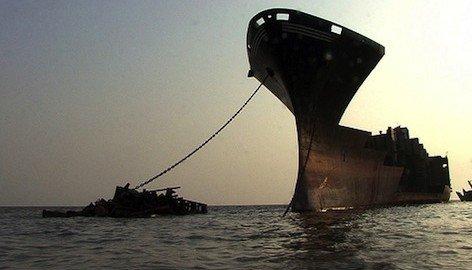 Stop allo smaltimento illegale delle navi fuori dall'Europa