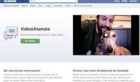 Facebook: come fare la video chat. Video conferenza sul social network