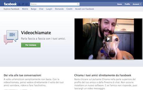 Facebook: come fare la video chat. Video conferenza sul social network