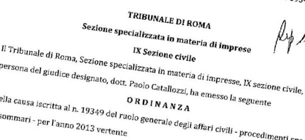 Giornali: vietato parlare di pirateria. Ordinanza liberticida del tribunale di Roma