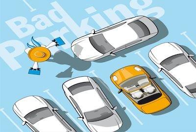 Chi lascia l'auto in seconda fila o blocca il garage altrui compie reato