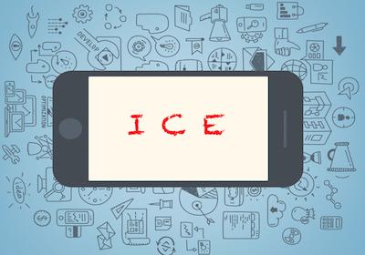 """Sul cellulare inseriamo il contatto """"ICE"""" (in caso di emergenza)"""