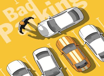 Parcheggio: chiudere il passaggio con l'auto è reato