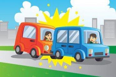 Brusca frenata e l'auto di dietro tampona: di chi è la colpa?