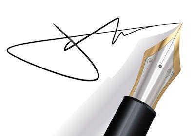 Inutile rendere la firma illeggibile: resta valida la notifica dell'atto di Equitalia
