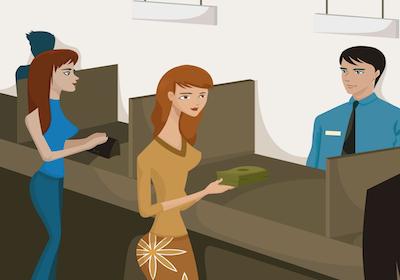 Conto cointestato tra coniugi: bonifico sul conto personale