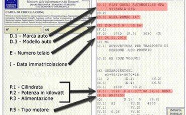 Autonoleggio: confermato lo stop all'annotazione sulla carta di circolazione