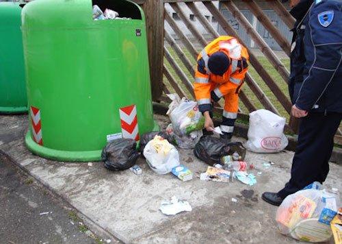 Raccolta differenziata rifiuti: la multa non deve presumere