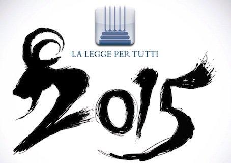 Cosa avverrà nel 2015: novità legali e fiscali del nuovo anno