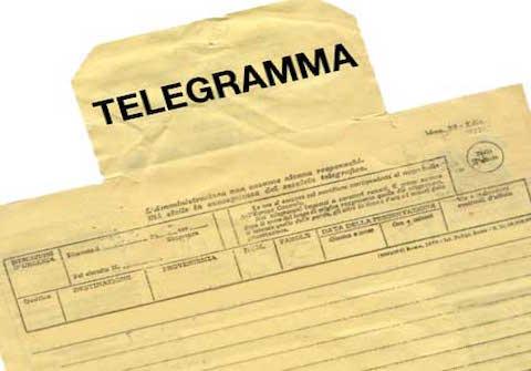 Licenziamento: può avvenire anche con telegramma