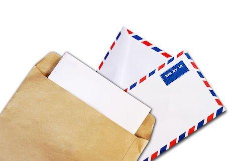 Se il destinatario di una lettera sostiene che dentro la busta non c'era nulla