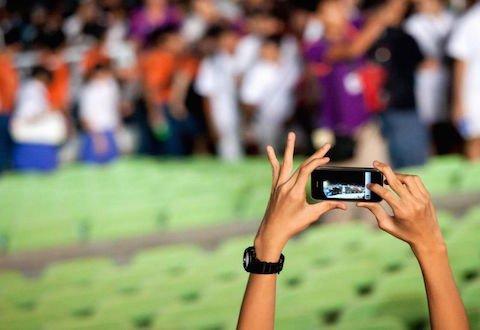 Riprese con la telecamera in mezzo alla folla: immagine tutelata?