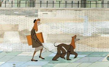 Cani al guinzaglio e imbrattamento