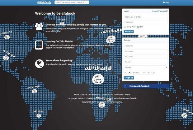 Bloccato 5elafabook, il social network lanciato dall'ISIS!