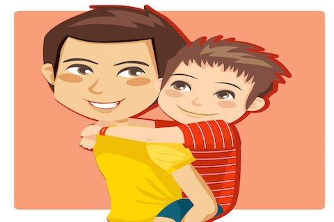 Quale genitore ha i figli a carico?