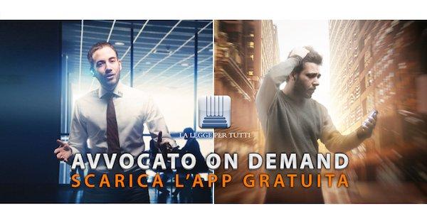 """""""Avvocato on demand"""": scarica l'app gratuita di LLpT"""