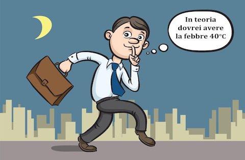 Che succede se non sei reperibile alla visita fiscale di controllo