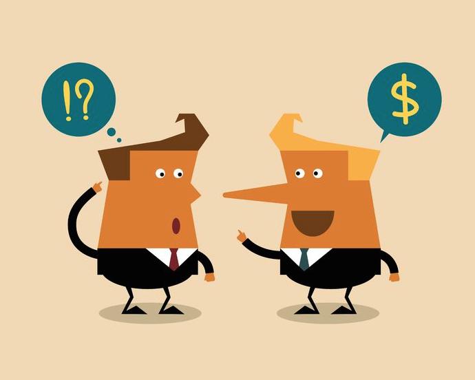 I comportanti scorretti del recupero crediti