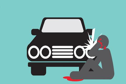 Infortunio nel parcheggio del lavoro: chi mi risarcisce?