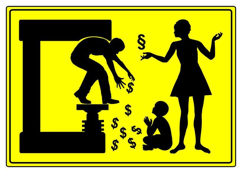 Alla ragazza madre nessun mantenimento, ma solo i soldi per i figli