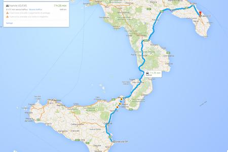 Da Siracusa a Lecce: più di 20 ore di treno. La proto-Italia di oggi