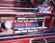 Auto stereo con musica alta multa per volume eccessivo
