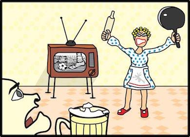 Separazione: il lancio di piatti e vasi non causa l'addebito