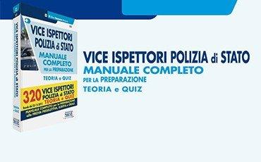 Vice Ispettori Polizia di Stato – Manuale completo per la preparazione