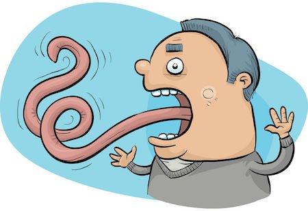 È legale dire parolacce o volgarità?