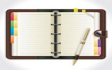 Accertamento: se la finanza trova l'agenda con attività e contatti