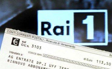 Canone Rai: il 31 ottobre deve pagare chi non ce l'ha in bolletta
