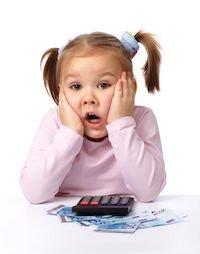 Genitore responsabile dei debiti figlio soldi