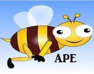 ape, bee, clip art, clipart,