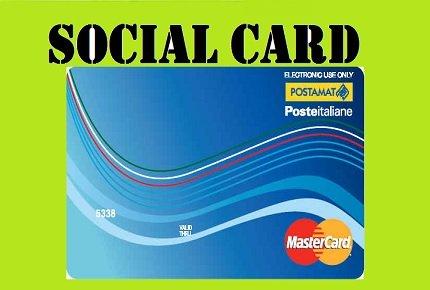 Sia, domanda, requisiti e punteggi per ottenere la nuova social card