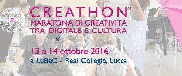 Concorso Creathon 2016: ultimi giorni per iscriversi
