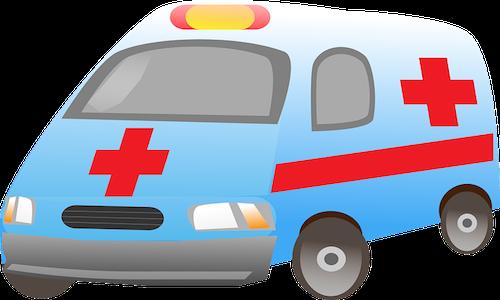 È vietato seguire l'ambulanza in corsa?