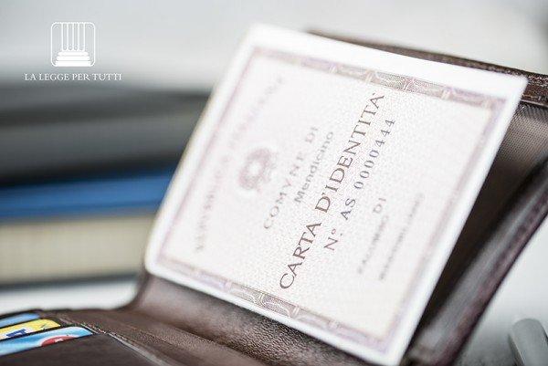Documenti equipollenti alla carta d'identità