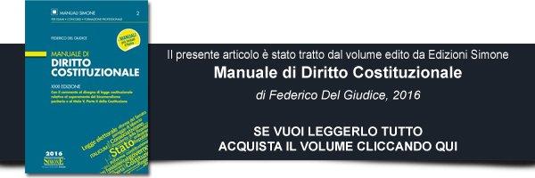 manuale diritto costituzionale 2016
